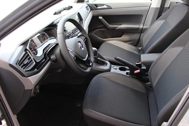 Volkswagen Virtus TSI Automático - interior