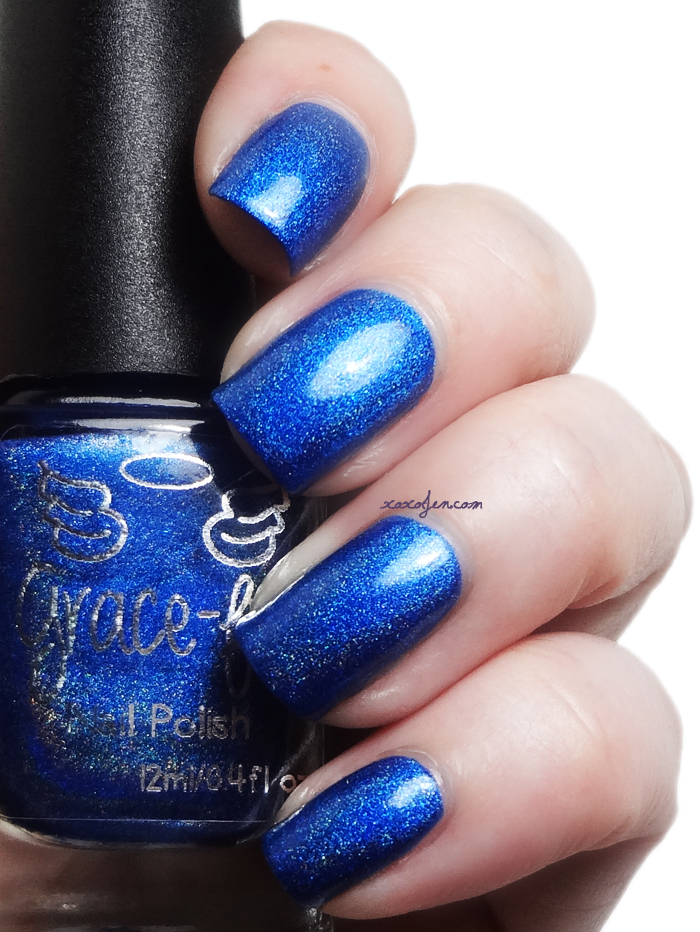 xoxoJen's swatch of Grace-full 1000 Oceans