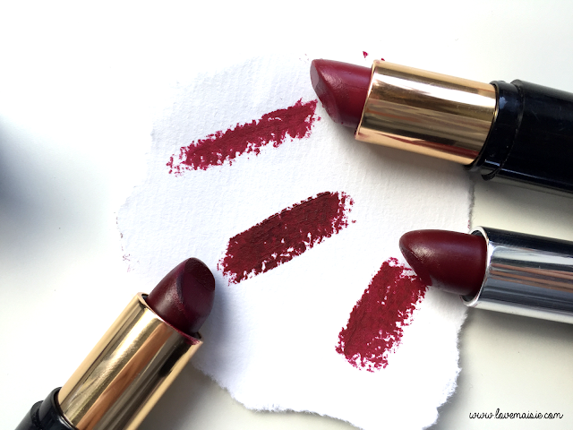 My favourite autumnal/fall lipsticks | Collection Cosmetics | Love, Maisie