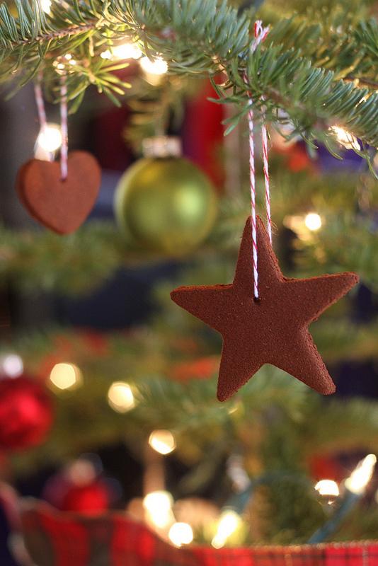 Edible Cinnamon Scented Cookie Ornament