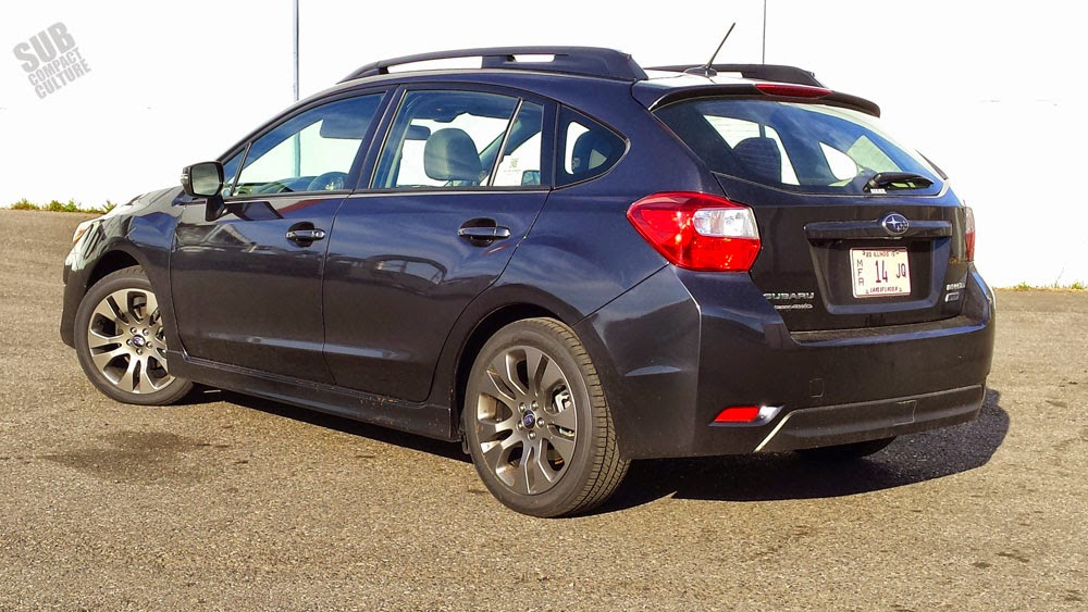 2015 Subaru Impreza Sport Limited Rear