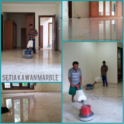 Poles Lantai Marmer Di Bogor