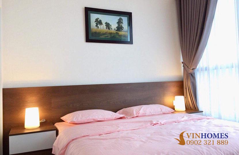 thuê căn hộ 4 phòng ngủ Landmark 1 tầng 15 nội thất đẹp | phòng ngủ 2