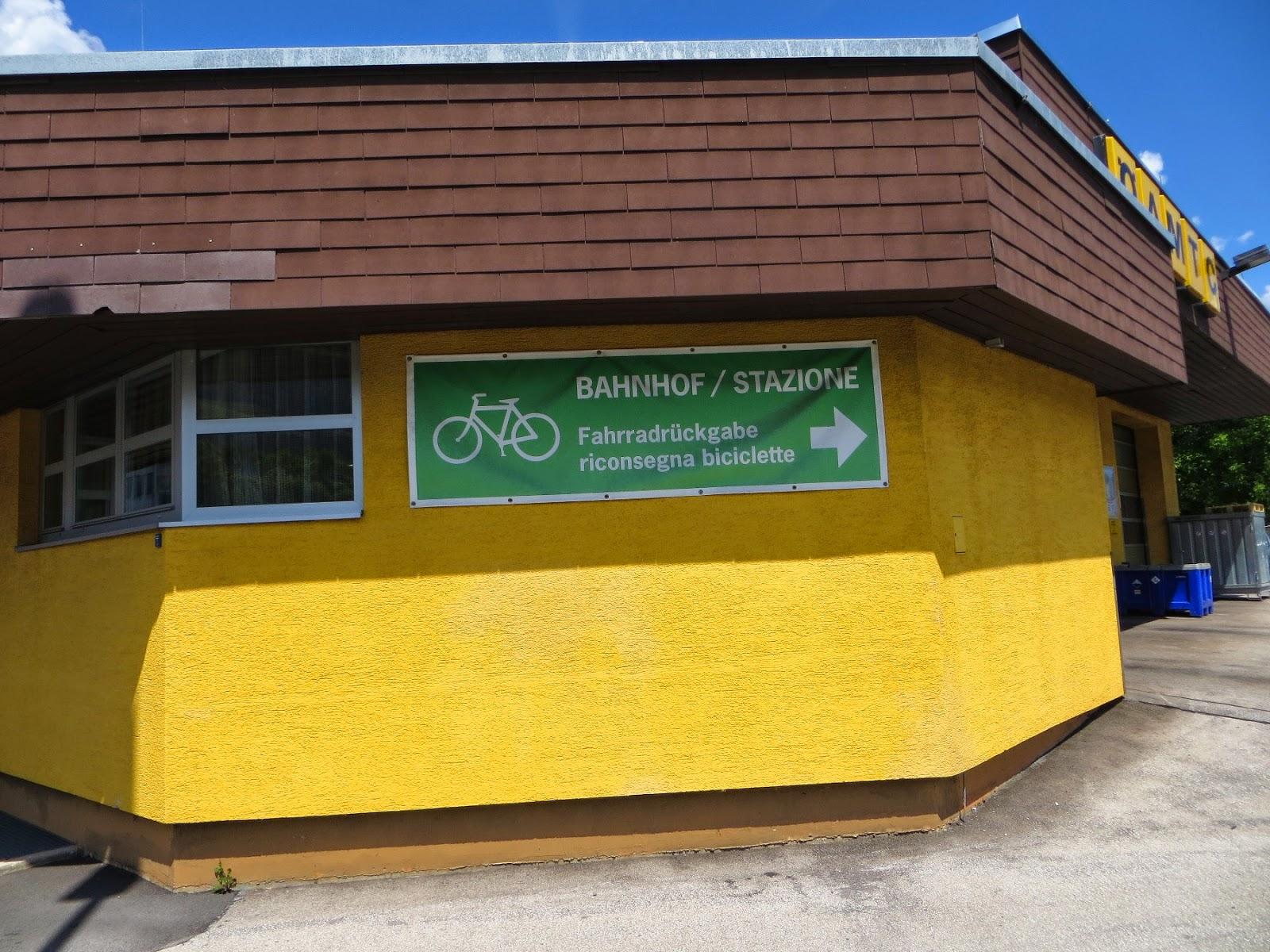 pista ciclabile san candido lienz noleggio bici