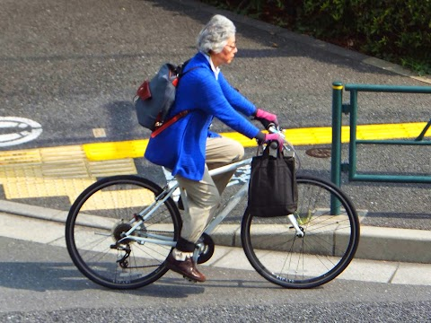 Japan's Cycling Seniors
