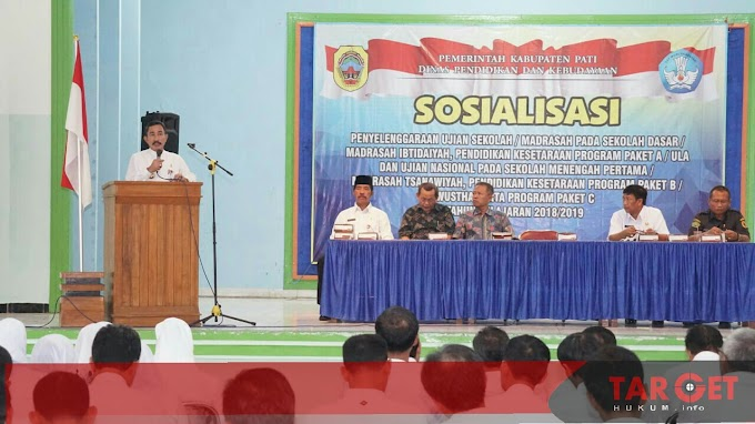 38.302 Siswa Bakal Ikuti UN SD - SMP 2019