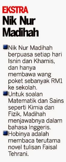 Ekstra: Nik Nur Madihah