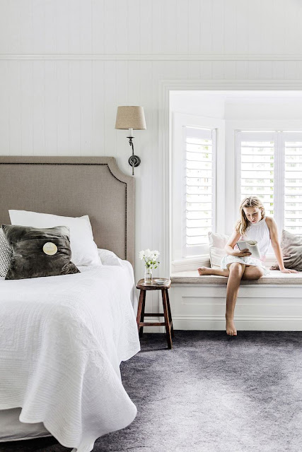 interiors | white queenslander