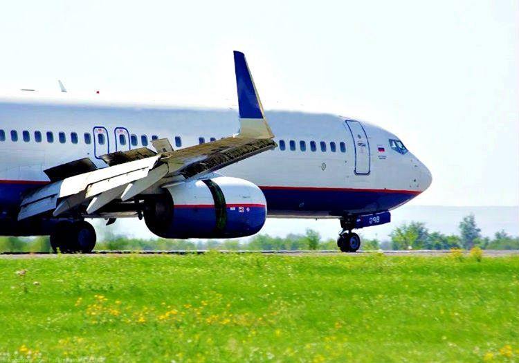 Rus yolcu uçağı Orenair 554 pistten havalanırken hiçbir sorun yaratmamıştı.