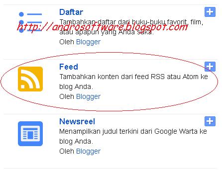 gambar RSS blogspot