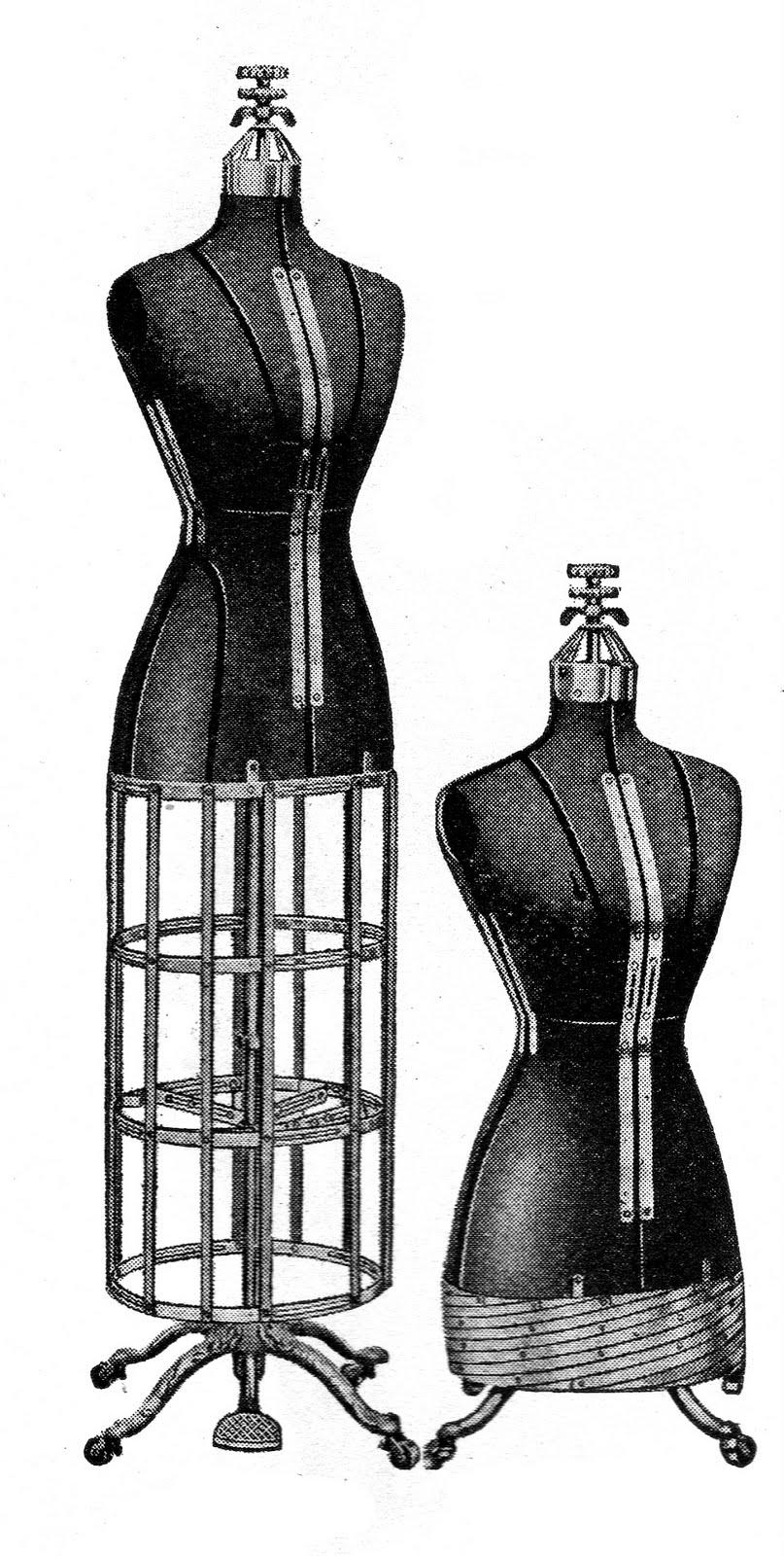 vintage dresses clipart - photo #7