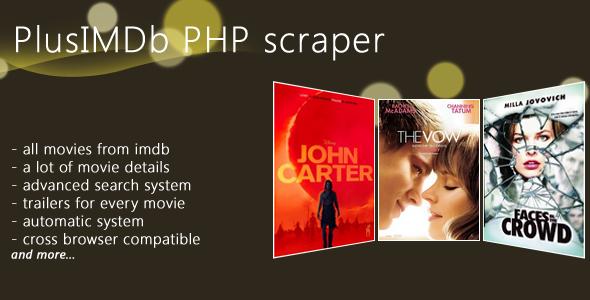 CodeCanyon Plus IMDb Scrapper v1 5 ~ Best Free Wordpress