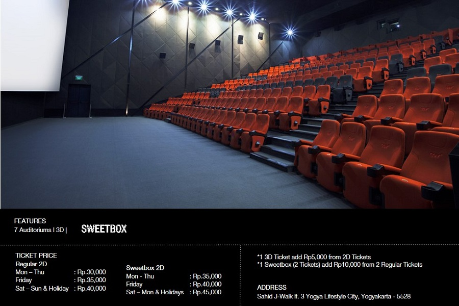 Alamat CGV Cinemas J-Walk Mall Yogyakarta