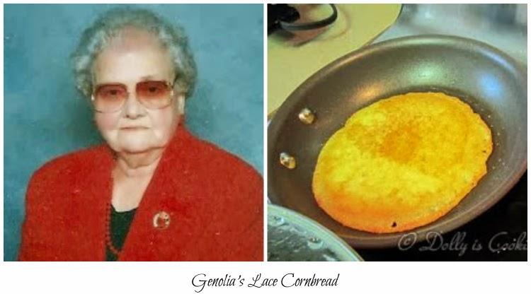 Lace Hoe Cake Pan
