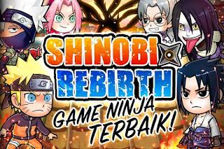 Ninja Rebirth Shinobi War Mod Apk v1.0.3 Mega Mod Unlocked Terbaru