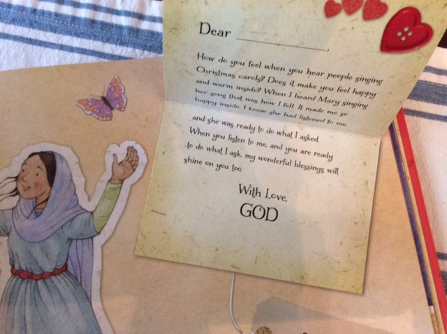Review of christmas love letters from god by glenys nellist