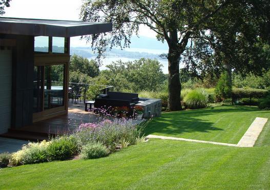Fotos de jardin jardines modernos de casas for Casa moderna jardines