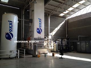 Liquid Oxygen Generating Plant
