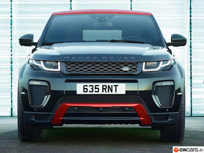 Range Rover Evoque Ember Edition front look