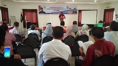 Muskab III Kadin Abdya, Hasrul Hasan Terpilih Aklamasi