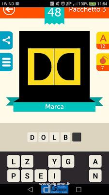 Iconica Italia Pop Logo Quiz soluzione pacchetto 3 livelli 48-50