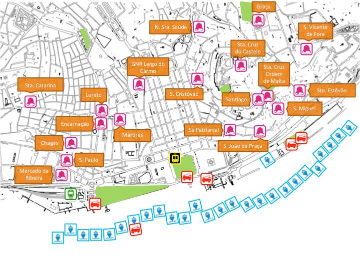 mapa bairros de lisboa CIDADANIA LX: MAPA do Lisboa em Si! mapa bairros de lisboa