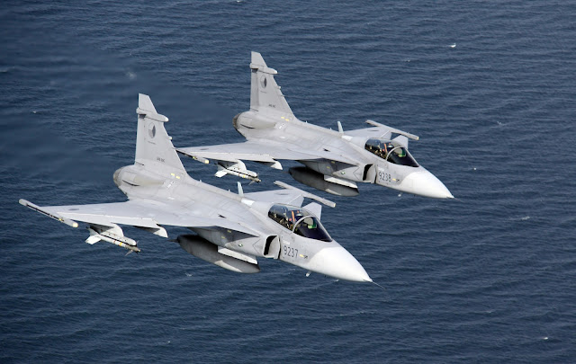 Image Attribute: SAAB Gripen 39, / Source: Wikimedia Commons