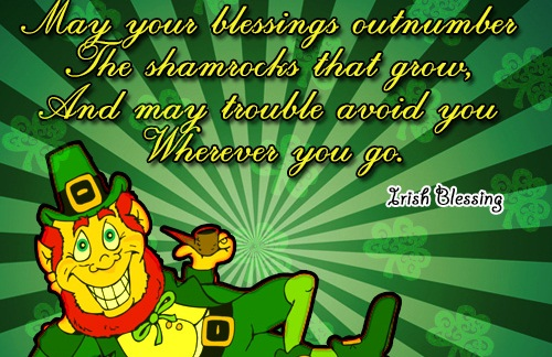 Irish blessings 2017 to share online
