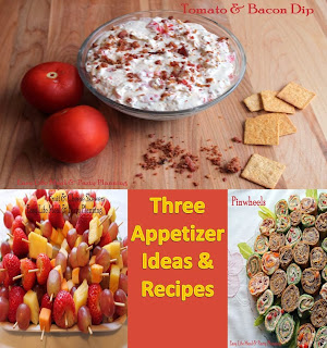 3 Appetizer Ideas & Recipes for Parties - Easy Life Meal & Party Planning