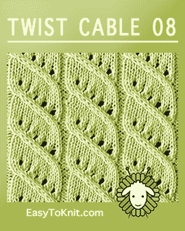 #Knitcable, Easy and FREE Knitting Pattern #easytoknit
