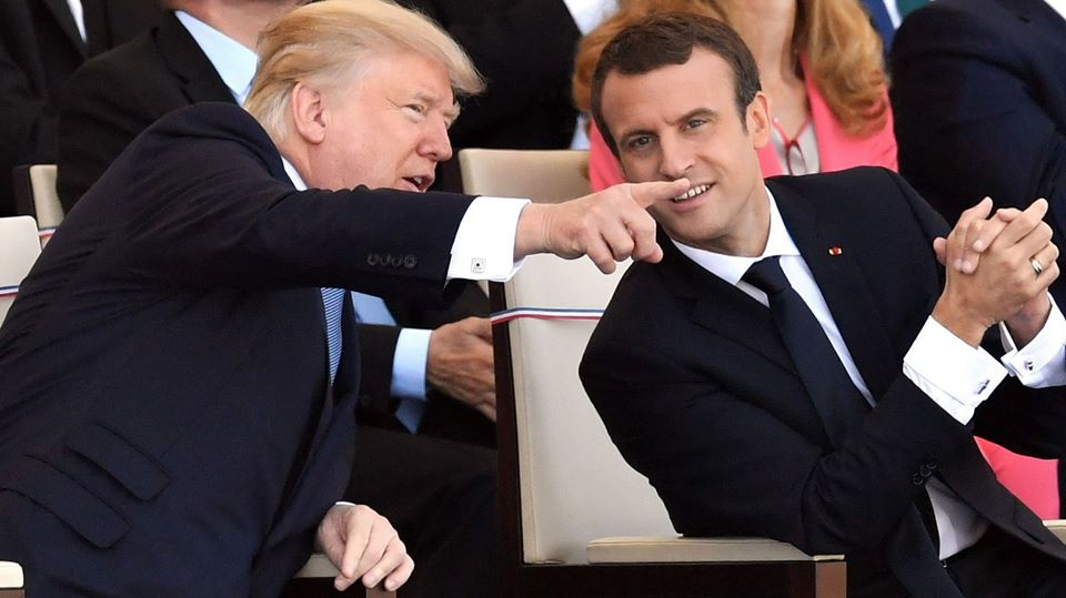 Macron hopes Trump will reverse decision on climate accord