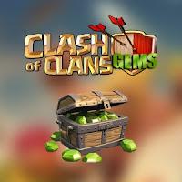 Kupon 1200 Gems COC Gratis Aman dan Resmi - Gratis 1200 Gems Clash of Clans