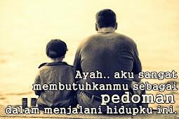Kata Kata Mutiara Ucapan Selamat Ulang Tahun untuk Ayah