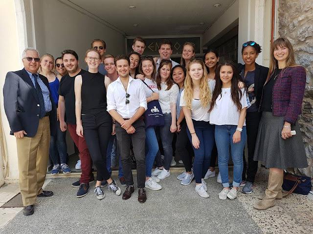 Επίσκεψη  Ολλανδών  Φοιτητών Νομικής στο Ναύπλιο