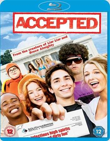 Poster Of Accepted 2006 English 300MB BRRip 480p Free Download Watch Online