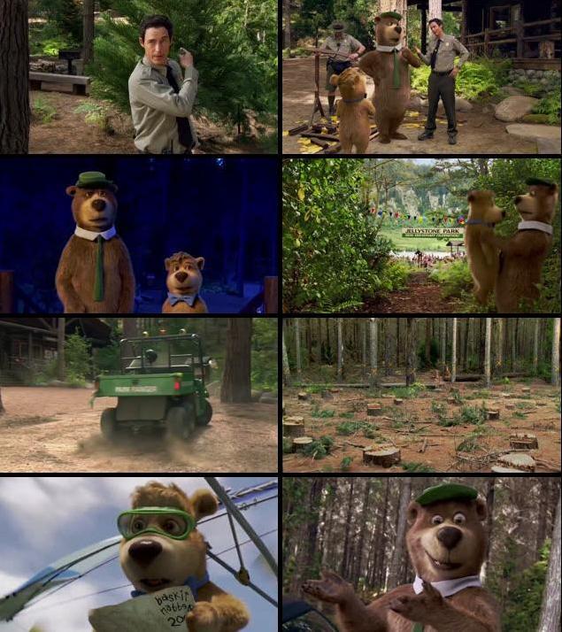 Yogi Bear 2010 Dual Audio Hindi 720p BluRay 750mb
