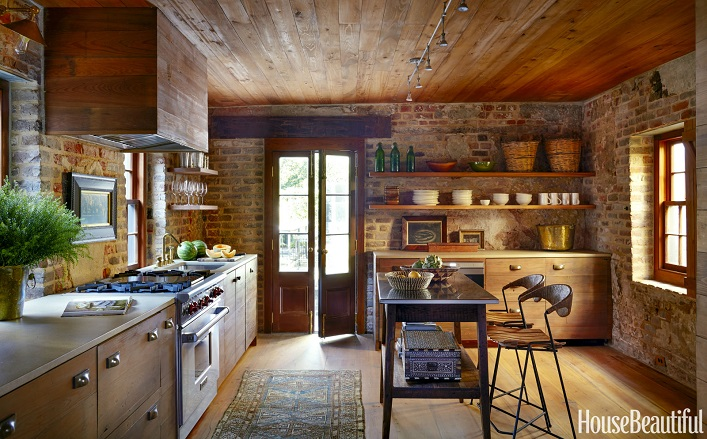 Charming Rustic Kitchen Ideas And Inspirations: Mix And Chic: Inside A Chic And Charming Restored Kitchen