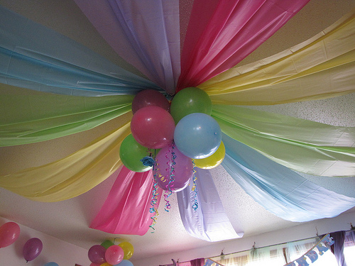 It\'s Written on the Wall: Fabulous Party Decorations For Any Kind Of ...