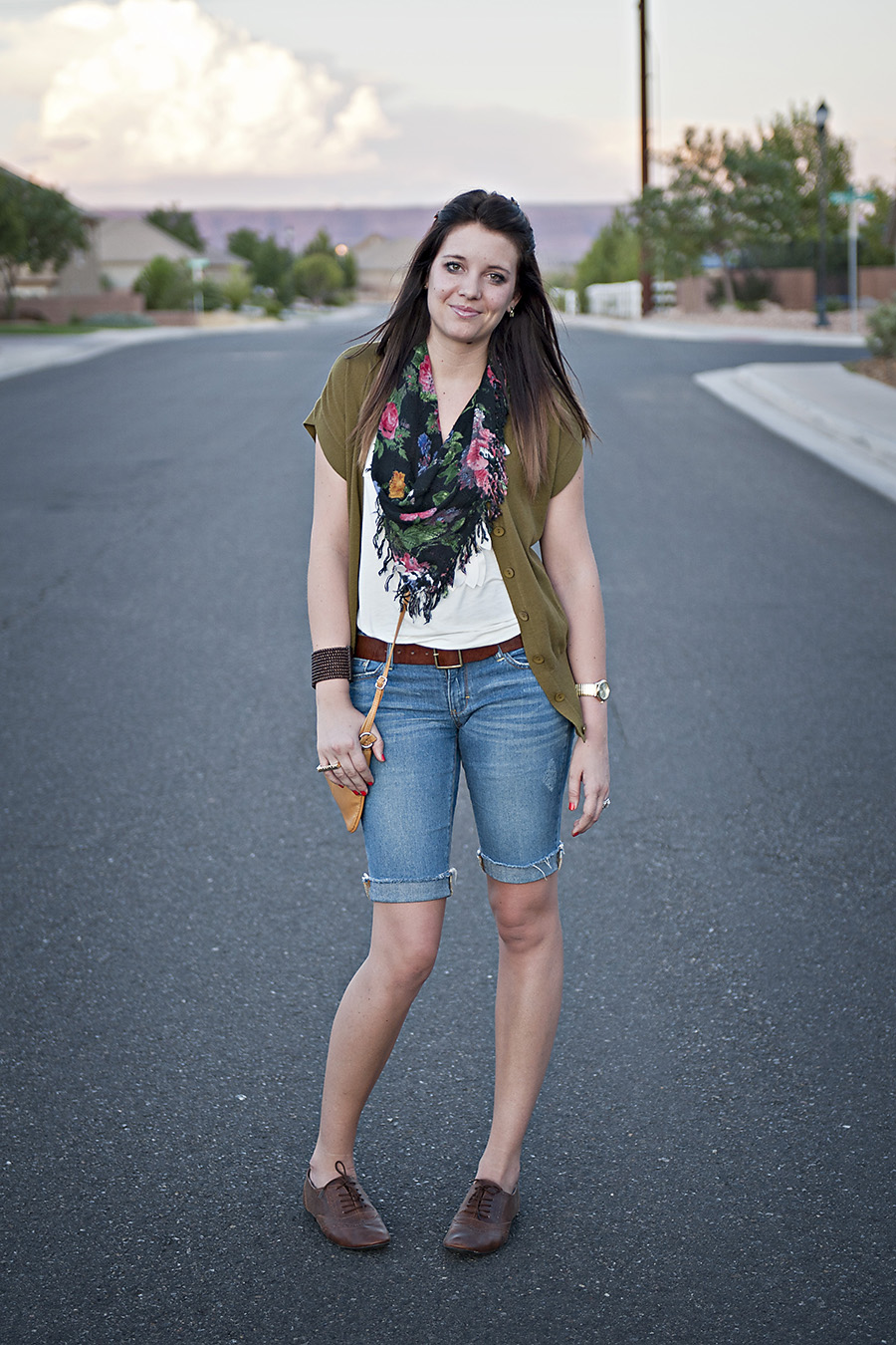 Utah Fashion Blogger, Modest Fashion Blogger, green cardigan
