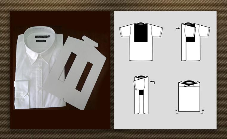 como doblar una camisa para que no se arrugue imagen