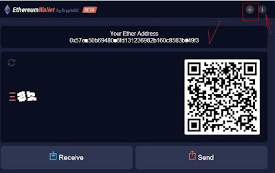 Адрес кошелька эфириума в аккаунте