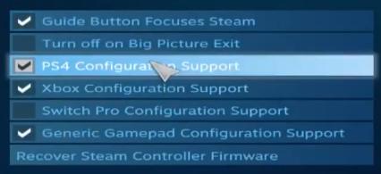 Steam Controller Configuration