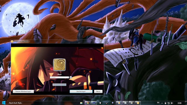 Uchiha Madara – Naruto Shippuden By Bashkara (theme windows 7) 3