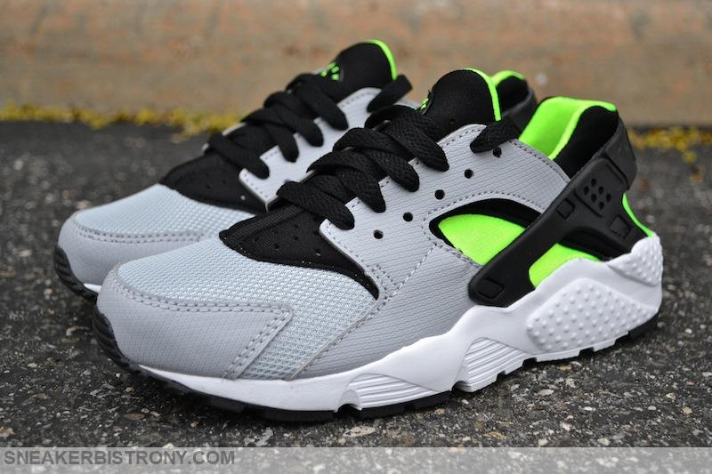 nike huarache electric green
