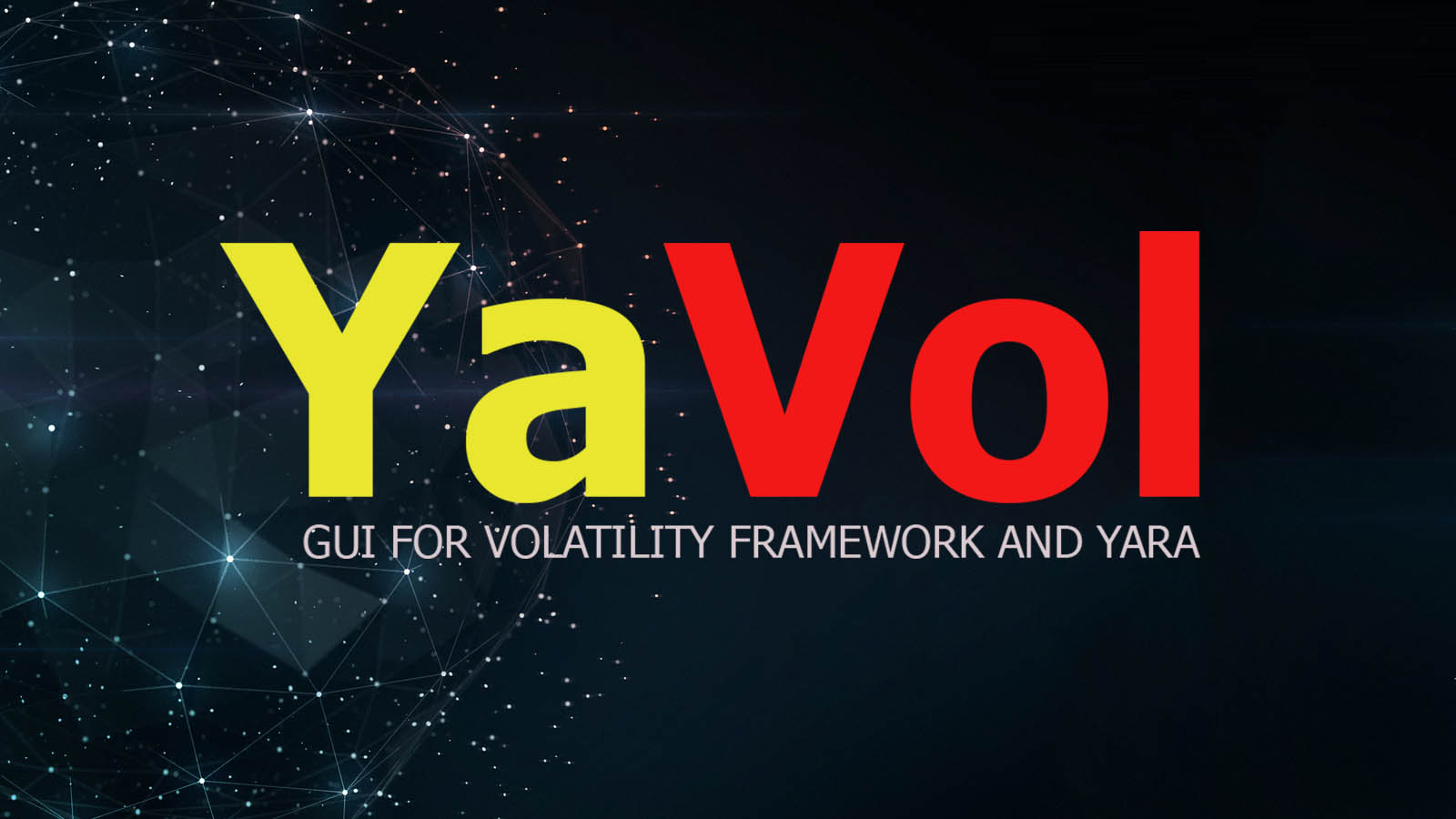 YaVol - GUI for Volatility Framework and Yara