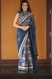 Actress Manjusha Pictures in Saree at Srirastu Subhamastu Song Launch  0229.JPG
