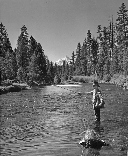 the use of symbolism in ernest hemingways big two hearted river Because there are only short stretches of the river that can be used for camp sites ,  hemingway wrote big two-hearted river in paris in 1924, when he was 25.