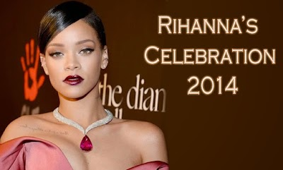 Rihanna: her celebration after one year!
