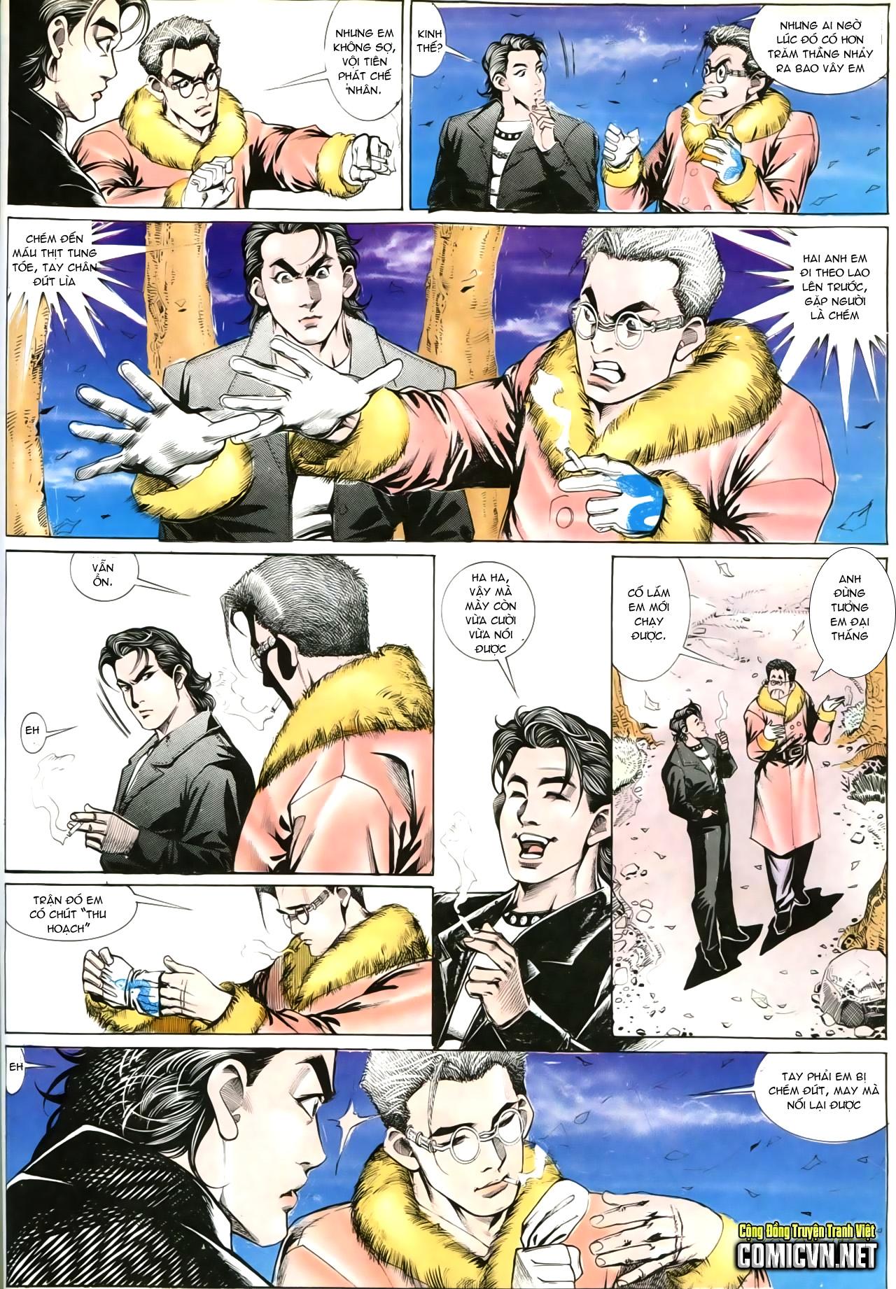 Người Trong Giang Hồ chapter 202: đối đầu trang 19