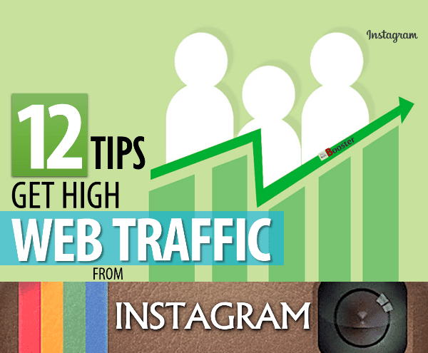 Drive traffic to your website using Instagram